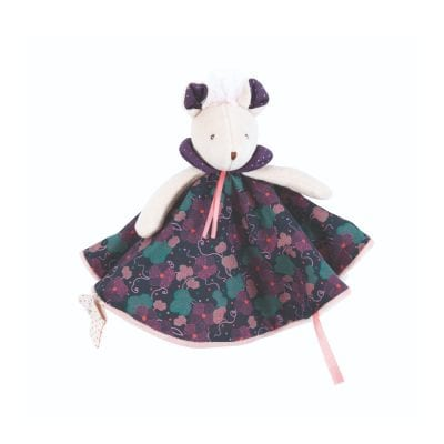 Moulin Roty First Toy Purple Mouse Comforter Baby Toy
