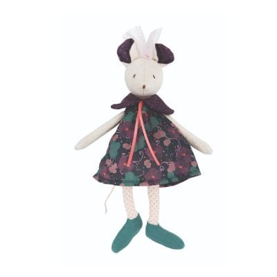 Moulin Roty Soft Toy Sissi the Mouse Baby Toy