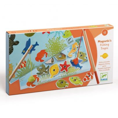 Djeco Fishing Game for Toddlers Tropic