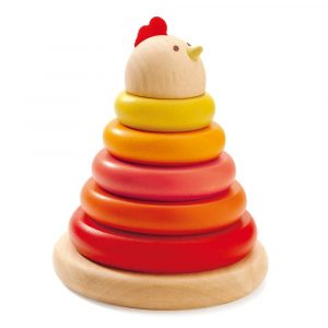 Stacking hen Djeco Toddler Toy