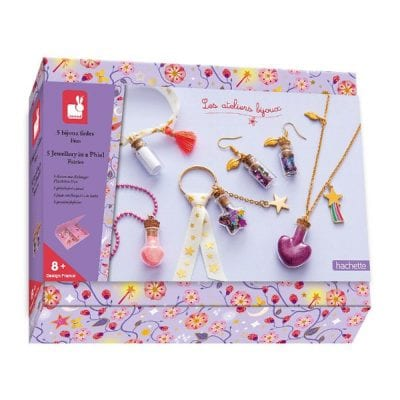 Janod Craft Kit Jewellery in a Phial for crafty children