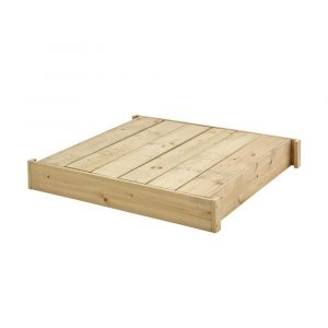 TP Outdoor sandpit with lid on