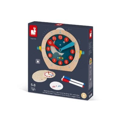 Janod Essential Tell the Time educational Toy