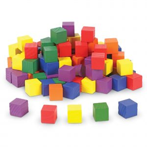 Learning Resources Wooden 1 inch Cubes