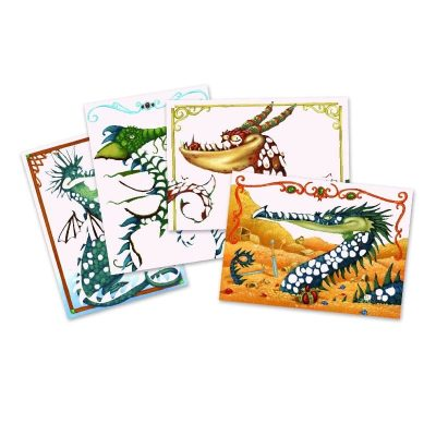 Djeco Dragons Foil Pictures