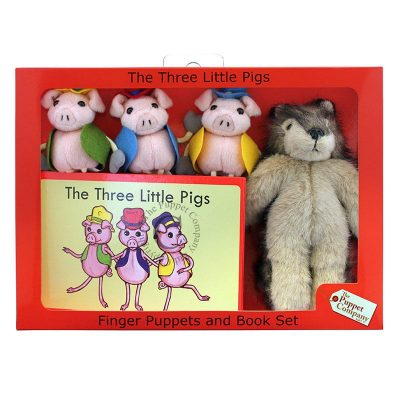Finger Puppet Story Set The Three Little Pigs