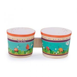 Moulin Roty Bongo Drum In the Jungle