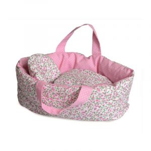 Carry Cot with Flower Bedding