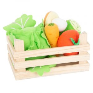 Fabric Vegetables Set in Box