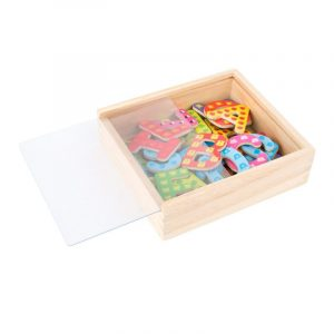 Colourful Magnetic Letters