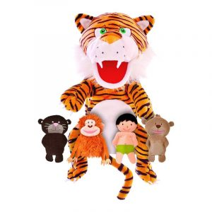 Jungle Book Hand Puppet and Finger Puppets