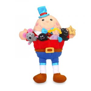 Nursey Rhymes Hand Puppet and Finger Puppets